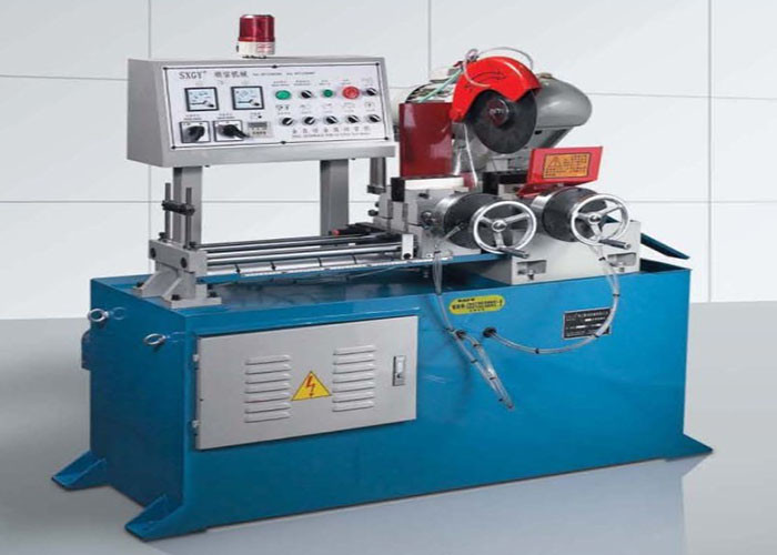 Auto Hydraulic Pipe Shrinking Machine , Heat Shrink Tubing Wrap Machine